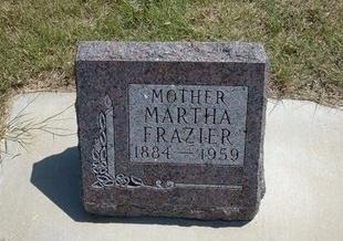 FRAZIER, MARTHA MARY - Wallace County, Kansas | MARTHA MARY FRAZIER - Kansas Gravestone Photos