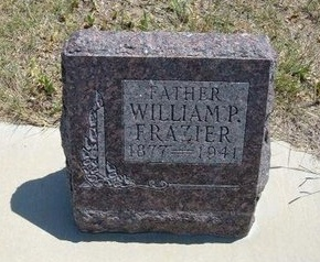 FRAZIER, WILLIAM PICKERING - Wallace County, Kansas   WILLIAM PICKERING FRAZIER - Kansas Gravestone Photos