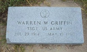 GRIFFIN, WARREN W  (VETERAN) - Wallace County, Kansas   WARREN W  (VETERAN) GRIFFIN - Kansas Gravestone Photos