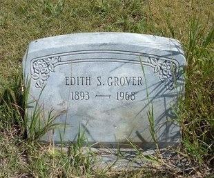 GROVER, EDITH S - Wallace County, Kansas | EDITH S GROVER - Kansas Gravestone Photos