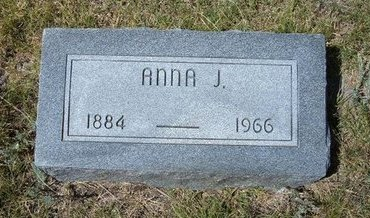 BURNETT HUFFMAN, ANNA J - Wallace County, Kansas | ANNA J BURNETT HUFFMAN - Kansas Gravestone Photos