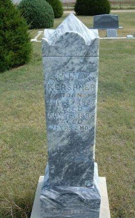 KERSHNER, MATTHIAS - Wallace County, Kansas | MATTHIAS KERSHNER - Kansas Gravestone Photos