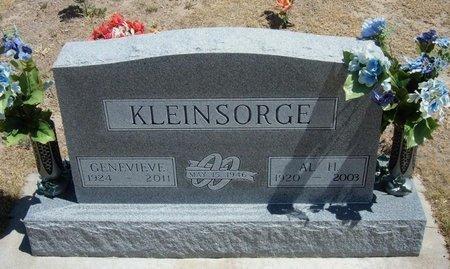 "KLEINSORGE, ALOYSISUS HENRY ""AL"" - Wallace County, Kansas   ALOYSISUS HENRY ""AL"" KLEINSORGE - Kansas Gravestone Photos"