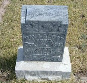 LACOST, MAY - Wallace County, Kansas | MAY LACOST - Kansas Gravestone Photos