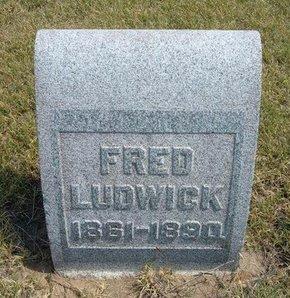 LUDWICK, FRED - Wallace County, Kansas   FRED LUDWICK - Kansas Gravestone Photos