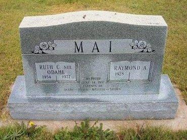 ODAHL MAI, RUTH CHARLOTTE - Wallace County, Kansas | RUTH CHARLOTTE ODAHL MAI - Kansas Gravestone Photos