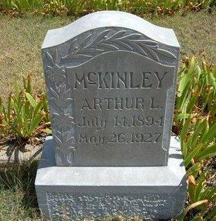 MCKINLEY, ARTHUR L - Wallace County, Kansas   ARTHUR L MCKINLEY - Kansas Gravestone Photos