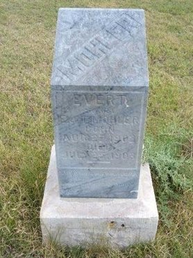 MOHLER, EVERT - Wallace County, Kansas | EVERT MOHLER - Kansas Gravestone Photos