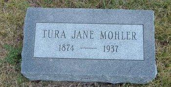 MOHLER, TURA JANE - Wallace County, Kansas | TURA JANE MOHLER - Kansas Gravestone Photos