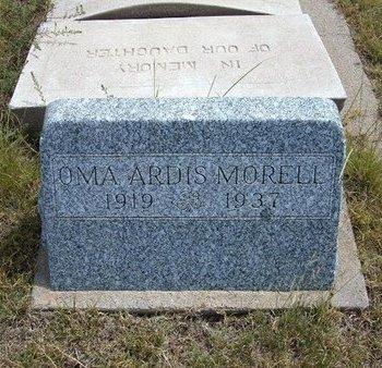 MORELL, OMA ARDIS - Wallace County, Kansas   OMA ARDIS MORELL - Kansas Gravestone Photos