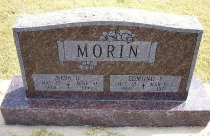 MORIN, EDMUND V - Wallace County, Kansas | EDMUND V MORIN - Kansas Gravestone Photos