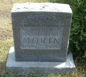 MORIN, KATHERINE - Wallace County, Kansas   KATHERINE MORIN - Kansas Gravestone Photos
