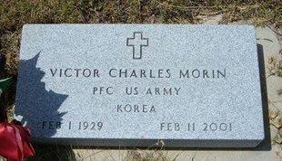 MORIN, VICTOR CHARLES   (VETERAN KOR) - Wallace County, Kansas   VICTOR CHARLES   (VETERAN KOR) MORIN - Kansas Gravestone Photos