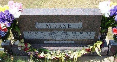 MORSE, LOYAL W - Wallace County, Kansas | LOYAL W MORSE - Kansas Gravestone Photos
