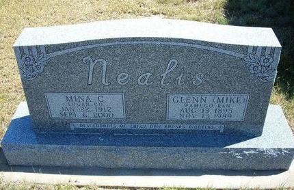 NEALIS, MINA C - Wallace County, Kansas | MINA C NEALIS - Kansas Gravestone Photos