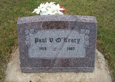 O'LEARY, PAUL V - Wallace County, Kansas | PAUL V O'LEARY - Kansas Gravestone Photos