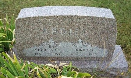 RADIEL, HARRIETT - Wallace County, Kansas | HARRIETT RADIEL - Kansas Gravestone Photos