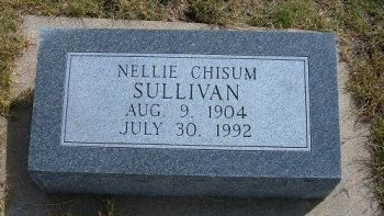 SULLIVAN, NELLIE CHISUM - Wallace County, Kansas | NELLIE CHISUM SULLIVAN - Kansas Gravestone Photos