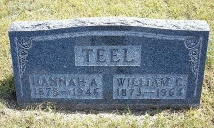 TEEL, HANNAH A - Wallace County, Kansas | HANNAH A TEEL - Kansas Gravestone Photos