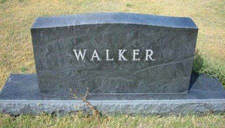 WALKER FAMLY GRAVESTONE,  - Wallace County, Kansas |  WALKER FAMLY GRAVESTONE - Kansas Gravestone Photos