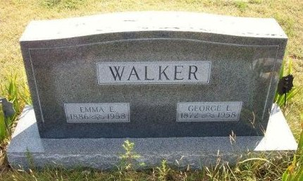 WALKER, GEORGE L - Wallace County, Kansas | GEORGE L WALKER - Kansas Gravestone Photos