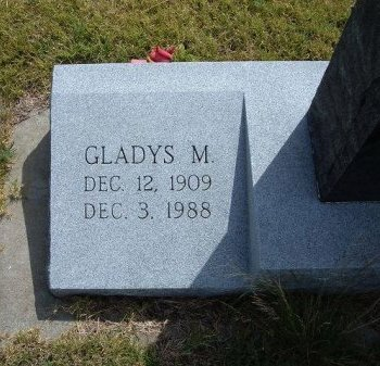 WALKER, GLADYS MAUDE - Wallace County, Kansas | GLADYS MAUDE WALKER - Kansas Gravestone Photos