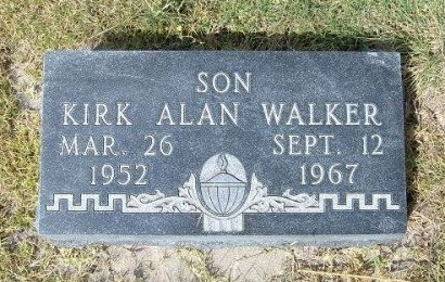 WALKER, KIRK ALAN - Wallace County, Kansas | KIRK ALAN WALKER - Kansas Gravestone Photos