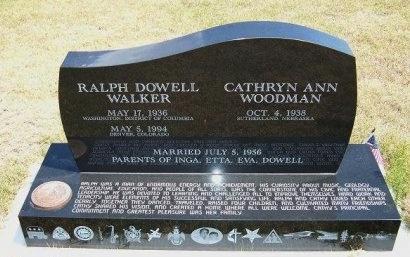 WALKER, RALPH DOWELL - Wallace County, Kansas | RALPH DOWELL WALKER - Kansas Gravestone Photos