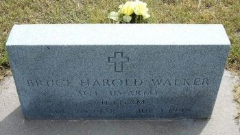 WALKER, BRUCE HAROLD   (VETERAN VIET) - Wallace County, Kansas | BRUCE HAROLD   (VETERAN VIET) WALKER - Kansas Gravestone Photos