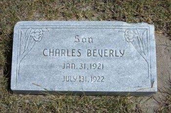 WARD, CHARLES BEVERLY - Wallace County, Kansas | CHARLES BEVERLY WARD - Kansas Gravestone Photos