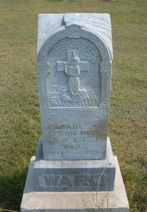 """WARD, CHARLES SUMNER """"CHARLEY"""" - Wallace County, Kansas   CHARLES SUMNER """"CHARLEY"""" WARD - Kansas Gravestone Photos"""