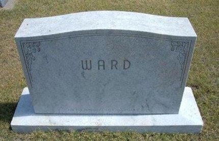WARD, FAMILY STONE - Wallace County, Kansas   FAMILY STONE WARD - Kansas Gravestone Photos
