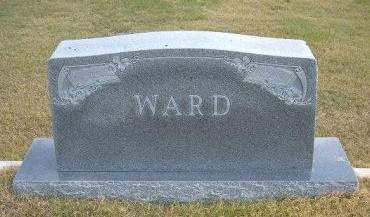WARD, FAMILY STONE - Wallace County, Kansas | FAMILY STONE WARD - Kansas Gravestone Photos