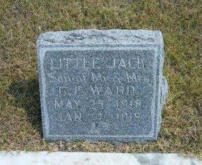 "WARD, HAROLD MILTON ""LITTLE JACK"" - Wallace County, Kansas | HAROLD MILTON ""LITTLE JACK"" WARD - Kansas Gravestone Photos"
