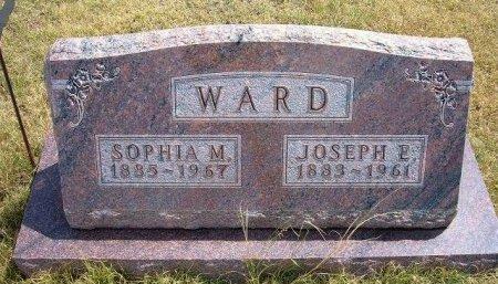 WARD, JOSEPH ELMER - Wallace County, Kansas | JOSEPH ELMER WARD - Kansas Gravestone Photos