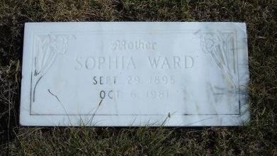 WARD, SOPHIA L - Wallace County, Kansas | SOPHIA L WARD - Kansas Gravestone Photos