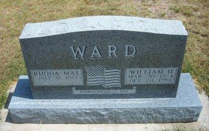 WARD, WILLIAM HOWARD - Wallace County, Kansas   WILLIAM HOWARD WARD - Kansas Gravestone Photos
