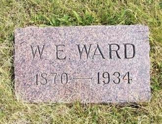 WARD, WILLIAM EDWARD - Wallace County, Kansas   WILLIAM EDWARD WARD - Kansas Gravestone Photos