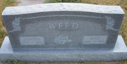 WEED, AGNES - Wallace County, Kansas | AGNES WEED - Kansas Gravestone Photos