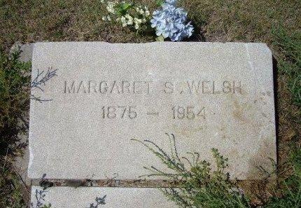 WELSH, MARGARET S - Wallace County, Kansas | MARGARET S WELSH - Kansas Gravestone Photos