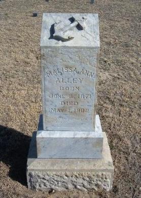 ALLEY, MALISSA ANN - Wichita County, Kansas | MALISSA ANN ALLEY - Kansas Gravestone Photos
