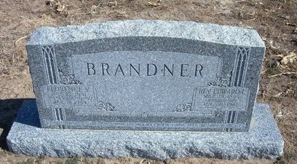 BRANDNER, FLORENCE V. - Wichita County, Kansas | FLORENCE V. BRANDNER - Kansas Gravestone Photos
