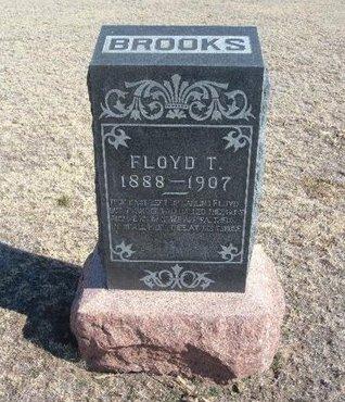BROOKS, FLOYD T - Wichita County, Kansas | FLOYD T BROOKS - Kansas Gravestone Photos