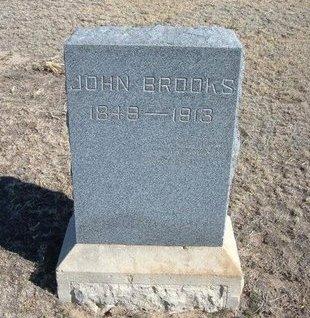 BROOKS, JOHN - Wichita County, Kansas   JOHN BROOKS - Kansas Gravestone Photos