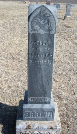 BROWN, AVADNA L - Wichita County, Kansas | AVADNA L BROWN - Kansas Gravestone Photos