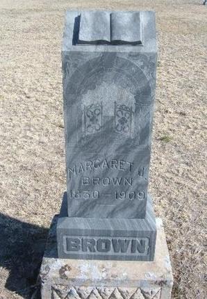 BROWN, MARGARET J. - Wichita County, Kansas | MARGARET J. BROWN - Kansas Gravestone Photos