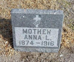 DICKEY, ANNA L - Wichita County, Kansas | ANNA L DICKEY - Kansas Gravestone Photos