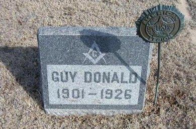DICKEY, GUY DONALD - Wichita County, Kansas | GUY DONALD DICKEY - Kansas Gravestone Photos