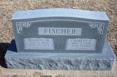 FISCHER, MILDRED M - Wichita County, Kansas | MILDRED M FISCHER - Kansas Gravestone Photos