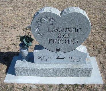 FISCHER, LAVAUGHN KAY - Wichita County, Kansas   LAVAUGHN KAY FISCHER - Kansas Gravestone Photos